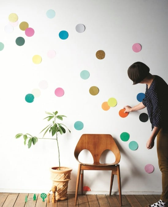 Have a Huge Confetti Wall - 28 Fun and Easy DIY New Year's Eve Party Ideas