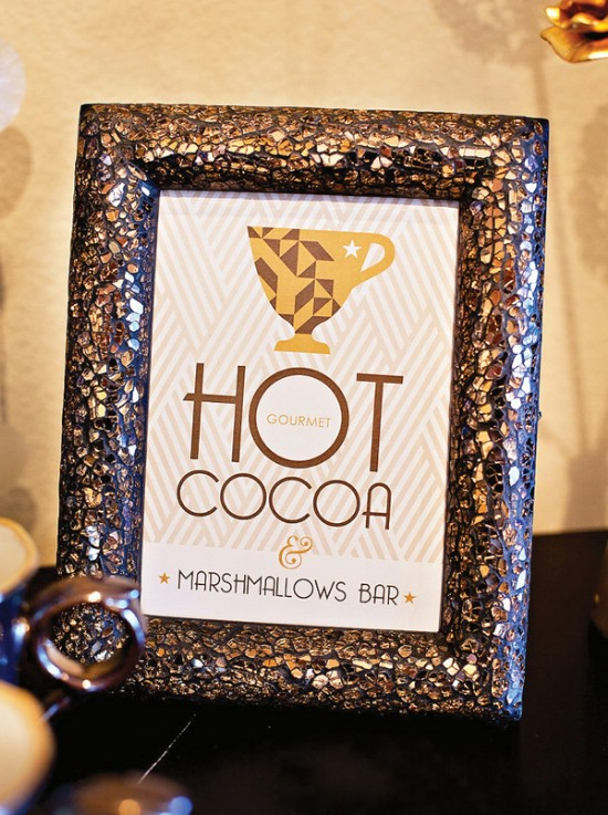 Have a Cocoa Station - 28 Fun and Easy DIY New Year's Eve Party Ideas