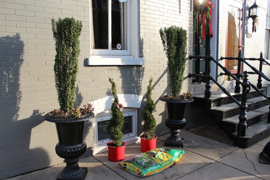Twigs and Trees - 60 Beautifully Festive Ways to Decorate Your Porch for Christmas