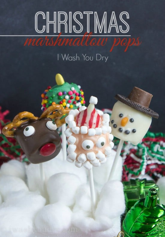 Marshmallow Pops - 25 Yummy Homemade Christmas Candy Recipes