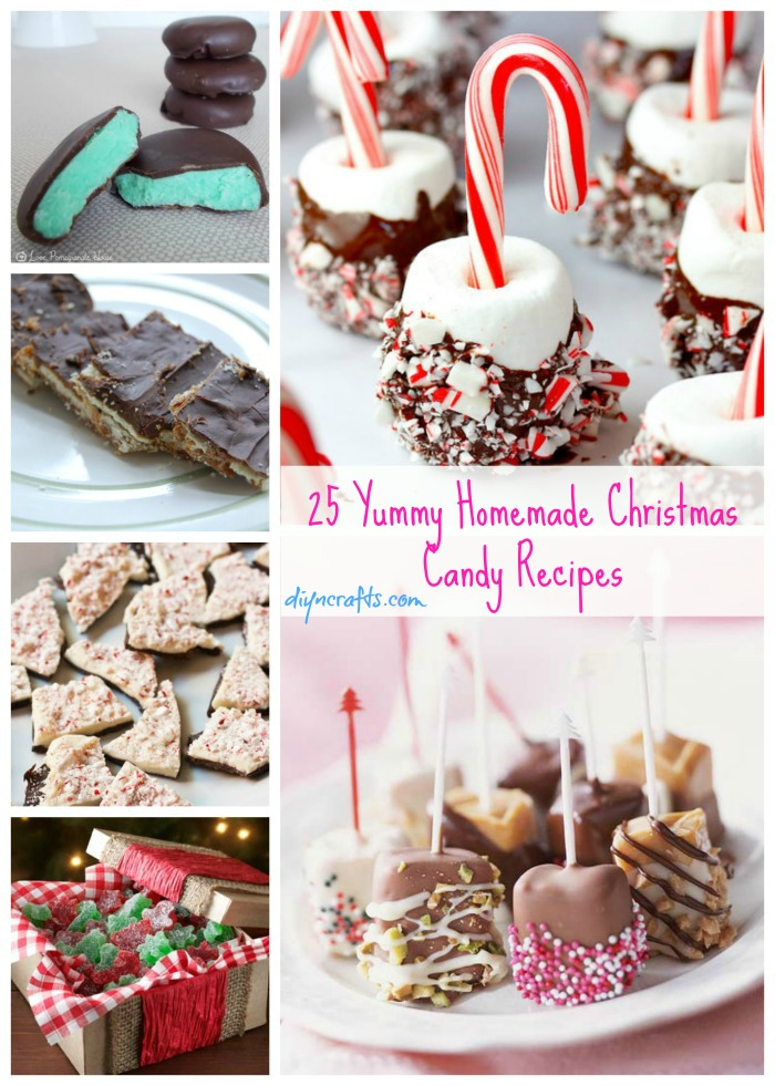 25 yummy homemade christmas candy recipes diy crafts for Homemade christmas goodies recipes