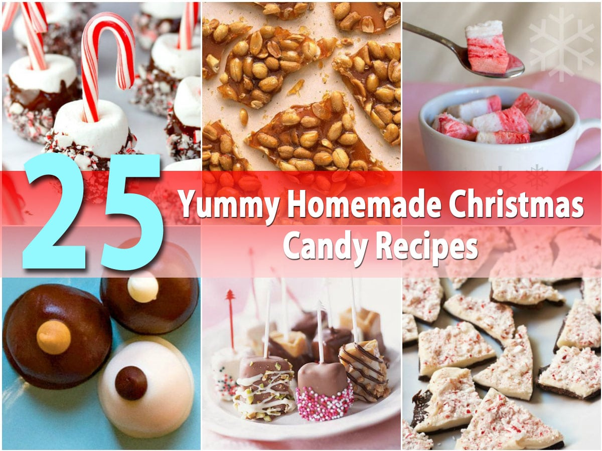 25 yummy homemade christmas candy recipes diy crafts