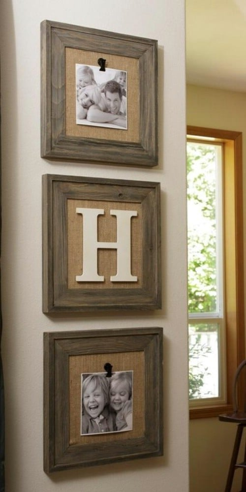 rustic photo frames 40 rustic home decor ideas you can build yourself