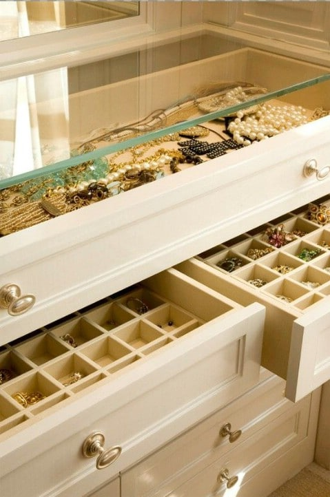 40 brilliant closet and drawer organizing projects diy crafts diy jewelry armoire solutioingenieria