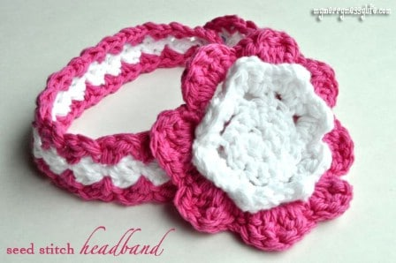 Crocheted Baby Headbands - 30 Super Easy Knitting and Crochet Patterns for Beginners