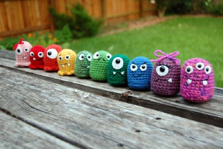 Crocheted Monsters - 30 Super Easy Knitting and Crochet Patterns for Beginners