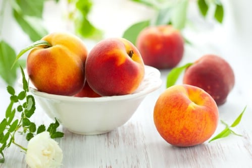 22. Peaches - 25 Foods You Can Re-Grow Yourself from Kitchen Scraps