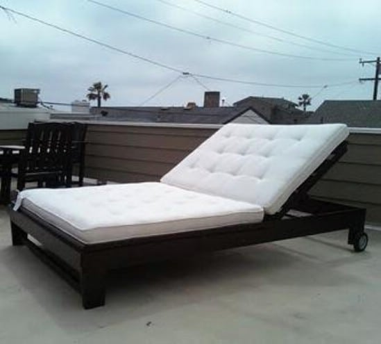 Ana White Chaise Lounge Chair