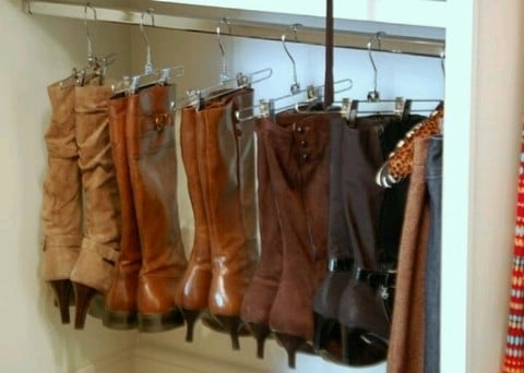 Hanging Boots