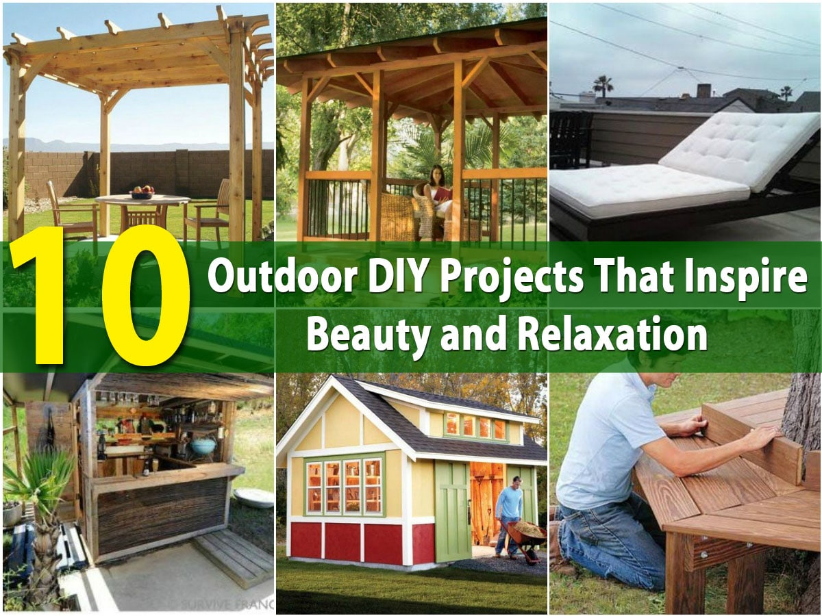 10 Outdoor DIY Projects That Inspire Beauty And Relaxation   DIY U0026 Crafts