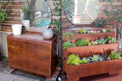 instructions houselogic repurposed furniture garden 40 genius space savvy small garden ideas and solutions