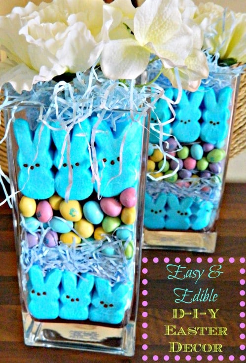 delicious vase display 80 fabulous easter decorations you can make yourself - Easter Decorating Ideas
