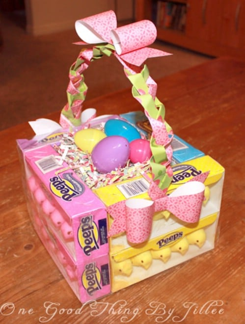 25 cute and creative homemade easter basket ideas diy crafts edible easter baskets negle Images