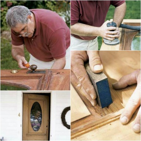 Refinish Your Front Door - 150 Remarkable Projects and Ideas to Improve Your Home's Curb Appeal