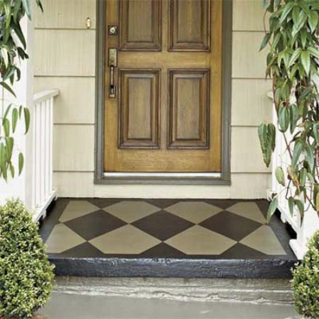 Paint The Front Stoop - 150 Remarkable Projects and Ideas to Improve Your Home's Curb Appeal