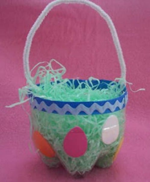 25 Cute And Creative Homemade Easter Basket Ideas Page 3