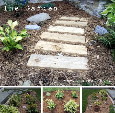Build A Wooden Pathway - 150 Remarkable Projects and Ideas to Improve Your Home's Curb Appeal