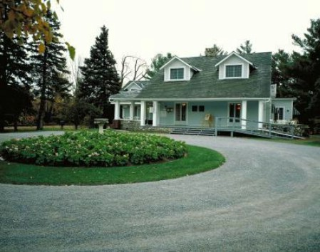 Create A Circular Driveway - 150 Remarkable Projects and Ideas to Improve Your Home's Curb Appeal