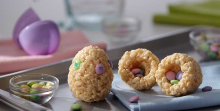 Rice Krispies Hidden Surprise Easter Eggs - 100 Easy and Delicious Easter Treats and Desserts
