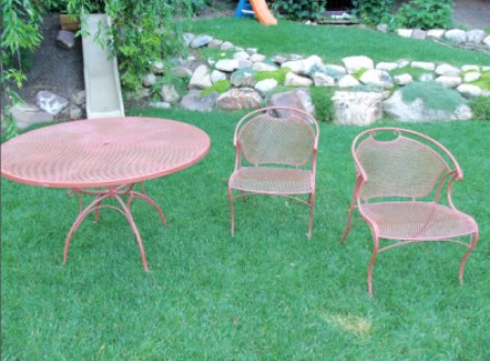 Add Colorful Chairs - 150 Remarkable Projects and Ideas to Improve Your Home's Curb Appeal