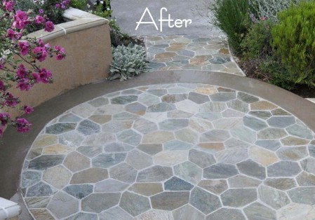 Make A Stone Patio - 150 Remarkable Projects and Ideas to Improve Your Home's Curb Appeal