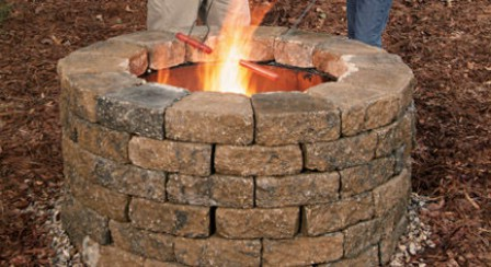 Build A Fire Pit - 150 Remarkable Projects and Ideas to Improve Your Home's Curb Appeal