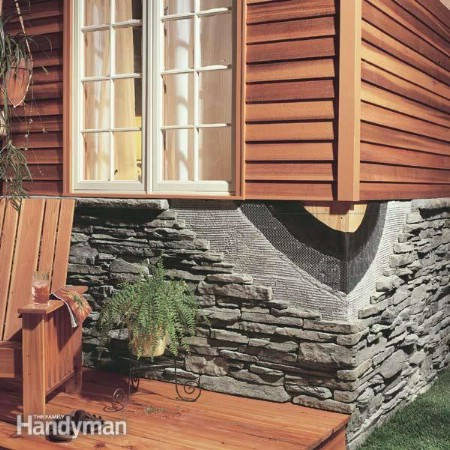 Install Stone Facing - 150 Remarkable Projects and Ideas to Improve Your Home's Curb Appeal