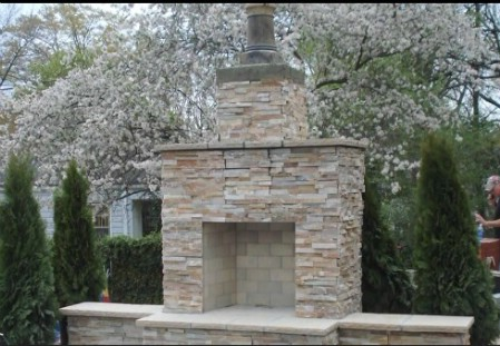 Build An Outdoor Fireplace - 150 Remarkable Projects and Ideas to Improve Your Home's Curb Appeal