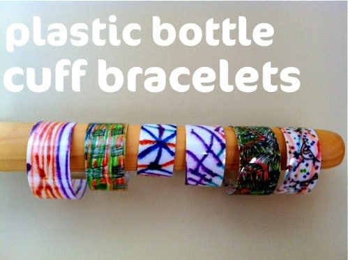 Cuff Bracelets - 20 Fun and Creative Crafts with Plastic Soda Bottles