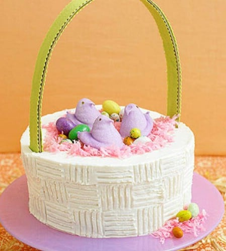 Easter Basket Cake - 100 Easy and Delicious Easter Treats and Desserts