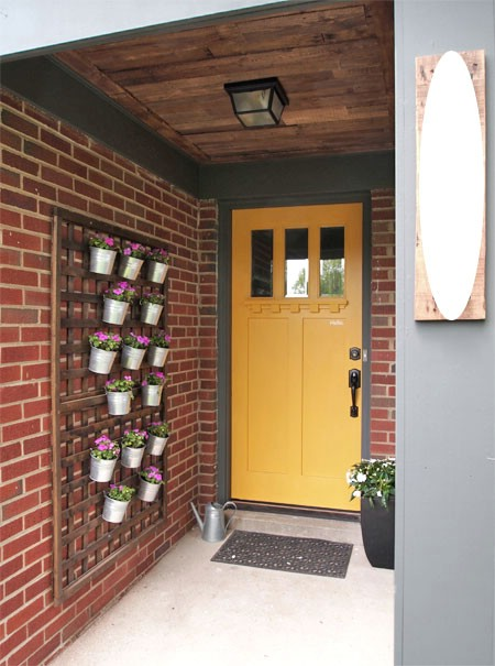 Redo The Porch Ceiling - 150 Remarkable Projects and Ideas to Improve Your Home's Curb Appeal