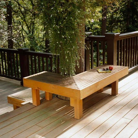 Add Built-In Seating - 150 Remarkable Projects and Ideas to Improve Your Home's Curb Appeal