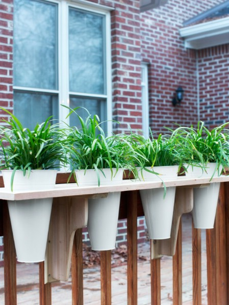 Build A Deck Rail Planter - 150 Remarkable Projects and Ideas to Improve Your Home's Curb Appeal