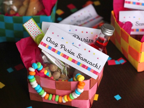 DIY Basket Weave Easter Baskets