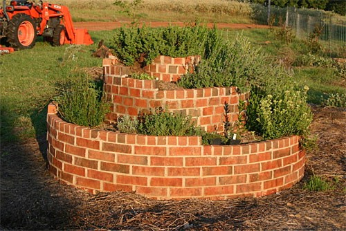 Herb Spiral - 40 Genius Space-Savvy Small Garden Ideas and Solutions