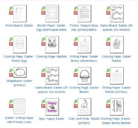 Easter Games and Coloring Pages Printables - 40 Crafty Easter Printables for Perfect Holiday Projects