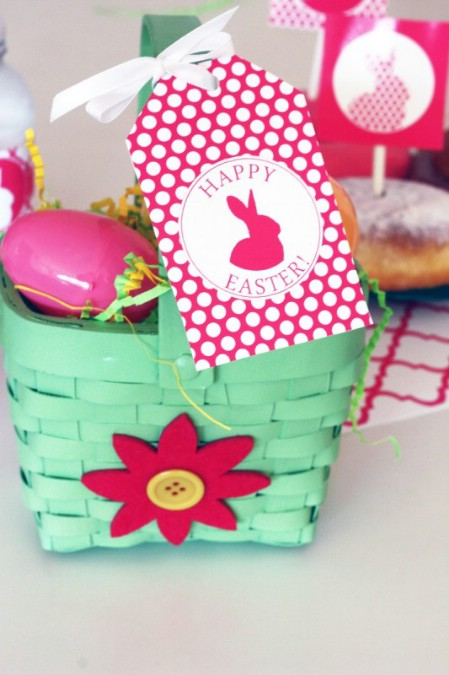 Party Tags and Bags Printables - 40 Crafty Easter Printables for Perfect Holiday Projects