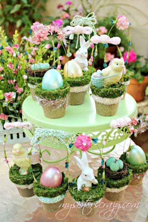 80 fabulous easter decorations you can make yourself page 2 of 8 tiny decorative easter baskets 80 fabulous easter decorations you can make yourself negle Image collections