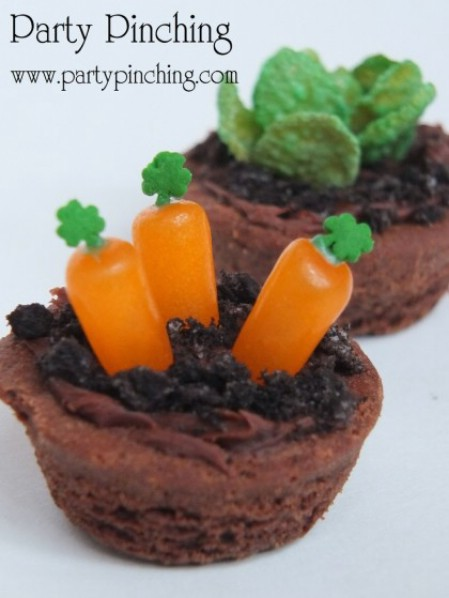 Brownie Bite Garden - 100 Easy and Delicious Easter Treats and Desserts