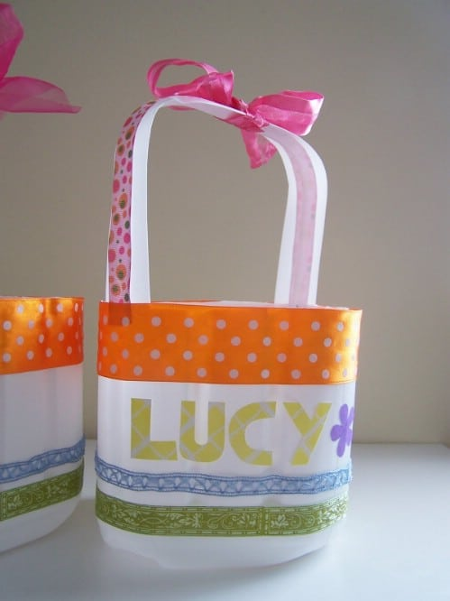 Milk Jug Easter Baskets