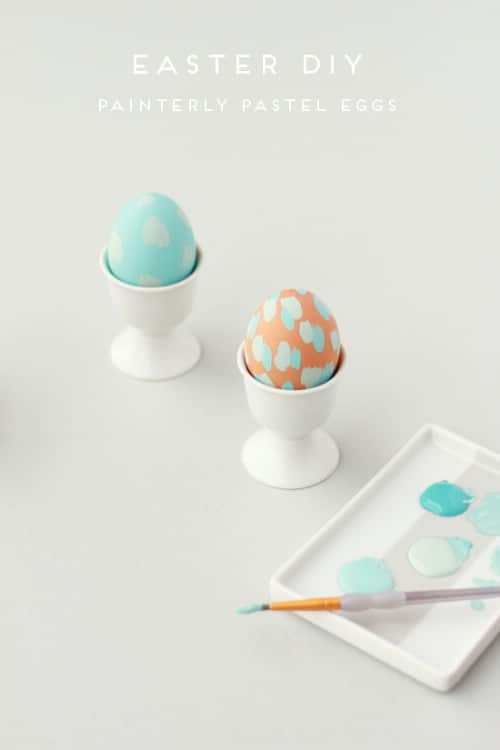 80 creative and fun easter egg decorating and craft ideas diy painterly easter eggs 80 creative and fun easter egg decorating and craft ideas pronofoot35fo Images