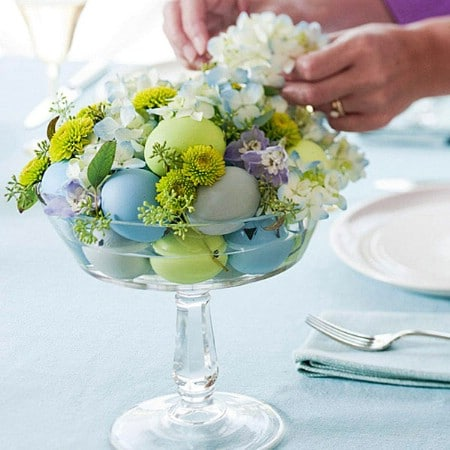 40 Beautiful DIY Easter Centerpieces To Dress Up Your
