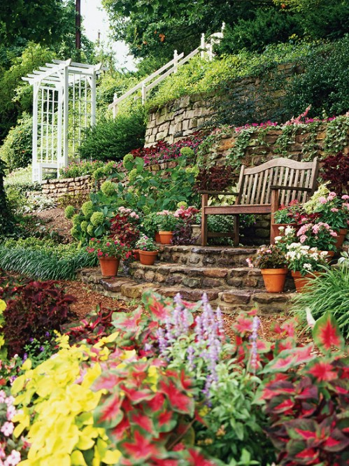 40 genius space savvy small garden ideas and solutions Better homes and gardens flower bed designs