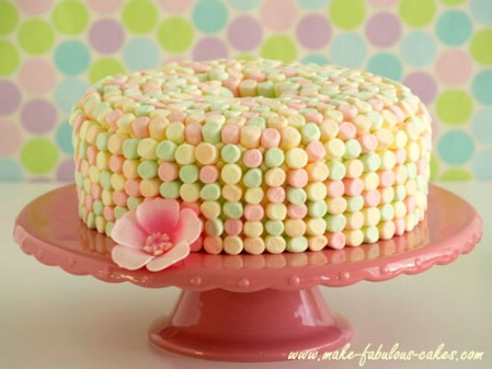 Heavenly Easter Angel Food Cake - 100 Easy and Delicious Easter Treats and Desserts