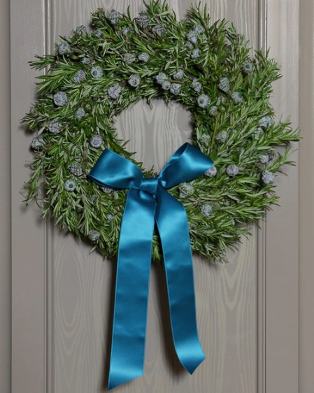 Fresh Herb Wreath - 40 Creative DIY Easter Wreath Ideas to Beautify Your Home