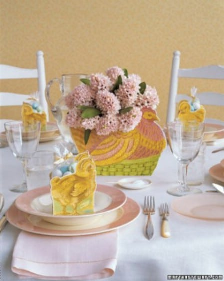 Hen Centerpiece Printable - 40 Crafty Easter Printables for Perfect Holiday Projects