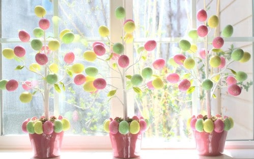 Egg Trees   80 Fabulous Easter Decorations You Can Make Yourself