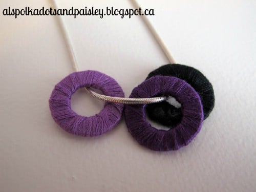 Threaded Washer Pendant