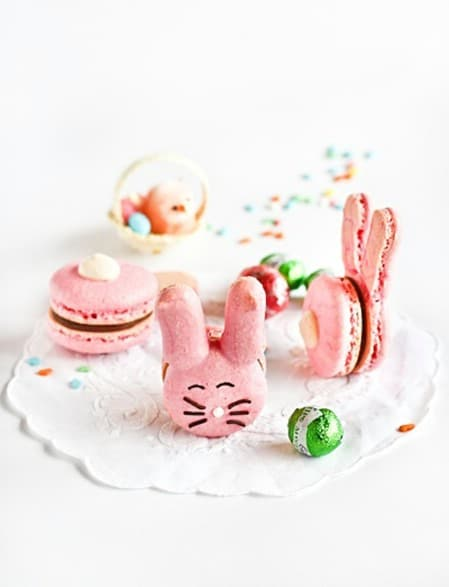 Easter Bunny Macaroons - 100 Easy and Delicious Easter Treats and Desserts