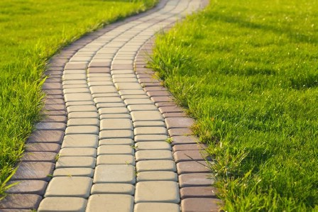 Create A Walkway - 150 Remarkable Projects and Ideas to Improve Your Home's Curb Appeal